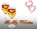 Valentines Day Card Royalty Free Stock Images - 7785959