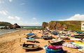 Hope Cove  Is A Small Seaside Village Within The Civil Parish Of South Huish In South Hams District, Devon, England Royalty Free Stock Photography - 77812137