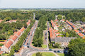 Aerial View Residential Area Of Emmeloord, The Netherlands Royalty Free Stock Photos - 77816828