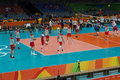 Poland National Men S Volleyball Team At Rio2016 Royalty Free Stock Images - 77821079