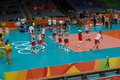Poland National Men S Volleyball Team At Rio2016 Stock Photography - 77821152