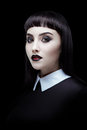 Gothic Brunette Girl Royalty Free Stock Images - 77880079