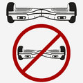 No Gyroscooter, Gyro Board, Electric Scooter Royalty Free Stock Photo - 77884515