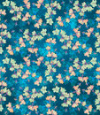 Seamless Pattern With Bellflowers. Floral Ornament Royalty Free Stock Image - 77932766