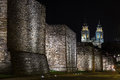 Roman Wall Of Lugo Stock Image - 77954171