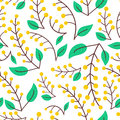 Forest Berry Nature Pattern Stock Photos - 77979573