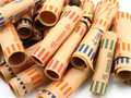 Coin Wrappers Stock Image - 787021