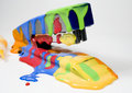 Set Of Colored Blot On Stapler Stock Photography - 7806082