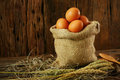 Fresh Eggs On Wooden Background From Farm And Prepare For Cook In Kitchen Room, Organic Food And Clean Food For Healthy Stock Photos - 78047933