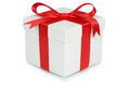 Gift Box Bow Christmas Gifts Birthday Valentines Day Isolated On Royalty Free Stock Images - 78086629