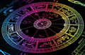 Rainbow Horoscope Wheel Chart Stock Photos - 7815753