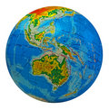 Globe, In A Center Australia Royalty Free Stock Photos - 7819548