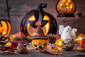 Traditional Scary Halloween Holiday Background Royalty Free Stock Image - 78142176