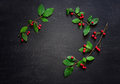 Xmas Simple Rustic Background Stock Image - 78154161