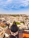 Old City Jerusalem. View From Lutheran Church Of The Redeemer. Royalty Free Stock Images - 78155999
