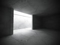 Abstract Empty Dark Room Interior With Concrete Walls. Architect Royalty Free Stock Photos - 78166908