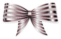 Big Bow Of Striped Shiny Ribbon Royalty Free Stock Photography - 78167357