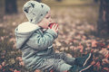 Little Boy In Autumn Park Stock Photography - 78169242