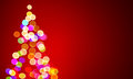 Christmas Lights On Tree, Out Of Focus Royalty Free Stock Images - 78175369
