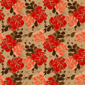 Floral Pattern In Folkloric Style And Bright Colors Royalty Free Stock Images - 78181609