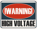 High Voltage Sign. Stock Images - 78200554