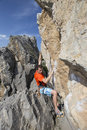 Cliffhanger. Stock Images - 78207044