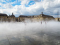 BORDEAUX, GIRONDE/FRANCE - SEPTEMBER 19 : Miroir D Eau At Place Royalty Free Stock Photo - 78211905
