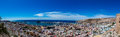 Panoramic View Of Almeria Old Town And Harbour Royalty Free Stock Images - 78216719