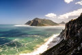 Hout Bay Seen From Chapman S Peak Drive - Cape Town, South Africa Royalty Free Stock Photography - 78223657