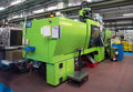 Injection Molding Machines In A Large Factory Royalty Free Stock Photos - 78235868