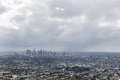 Rain Clouds Over Downtown Los Angeles Stock Photo - 78269250