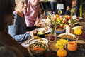 People Celebrating Thanksgiving Holiday Tradition Concept Royalty Free Stock Photos - 78304708
