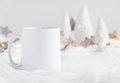 Mockup Styled Stock Product Image, White Mug That You Can Add Your Custom Design/quote To. Royalty Free Stock Images - 78310439