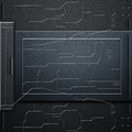 Scifi Wall. Carbon Fiber Wall And Circuits. Metal Background Stock Images - 78310674