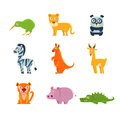 Exotic Toy Fauna Collection Royalty Free Stock Photos - 78321228