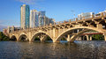 Austin Skyline And Congress Bridge Over The Colorado River In Texas Stock Images - 78327684