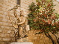 King David S Statue Playing The Harp Stock Photo - 78337880