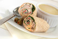 Chicken Wrap And Sandwich Royalty Free Stock Image - 78338906
