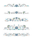 Vector Text Dividers With Ocean Royalty Free Stock Image - 78339596