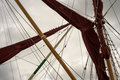Yacht Rigging Sails And Mast Posts Stock Image - 78339951