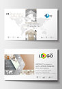 Business Card Templates. Cover Design Template, Easy Editable Blank, Flat Layout. Abstract Gray Color  Background Royalty Free Stock Photo - 78344475