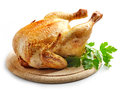 Whole Roasted Chicken Royalty Free Stock Photo - 78354675