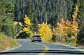 Highway 34, Rocky Mountain National Park Royalty Free Stock Photo - 78355615