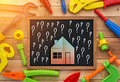 Home Improvement With Handy Tools Toy Royalty Free Stock Photography - 78359997
