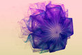 Fractal Image Is: Virtual Flowers. Royalty Free Stock Photos - 78377018