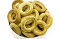 Bagels Piled In The Dish. Royalty Free Stock Photo - 78390265