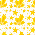 Seamless Background Design With Yellow Stars Stock Photo - 78391580