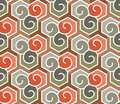 Geometric Abstract Seamless Pattern. Linear Motif Background Stock Images - 78436834