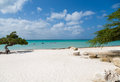 Sandy Aruba Beach Stock Image - 78457911