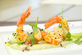 Gourmet Appetizer With Shrimp Stock Photography - 78458742